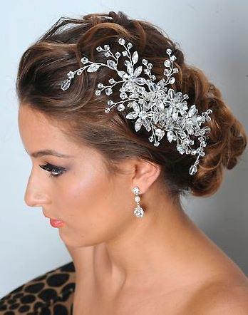 wedding hairstyle and makeup Bella Tiara Blog